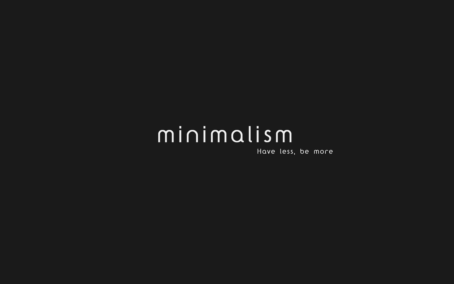 Minimalism - have less, be more - Amanda's Update